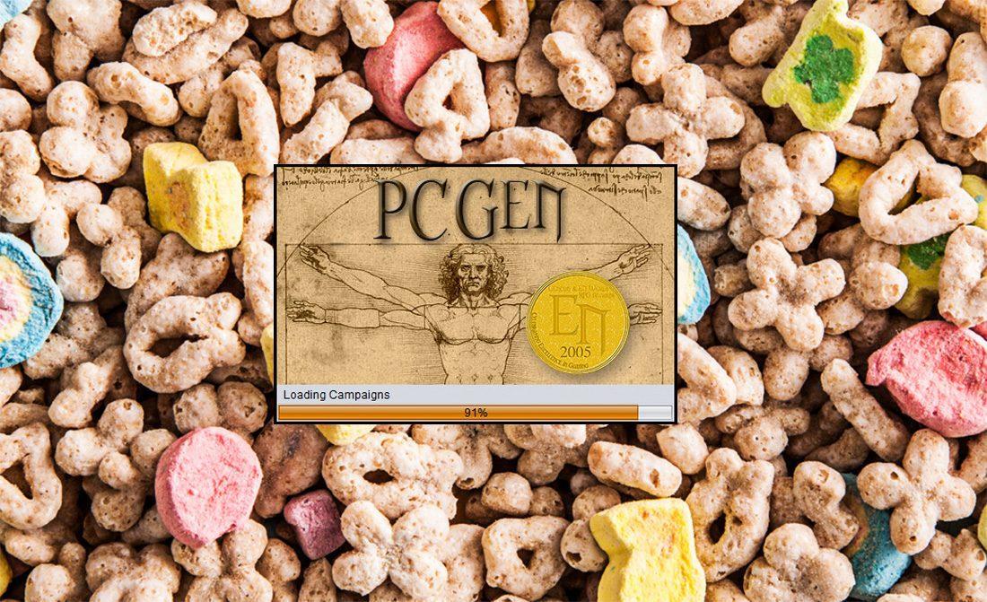 PCGen Opening